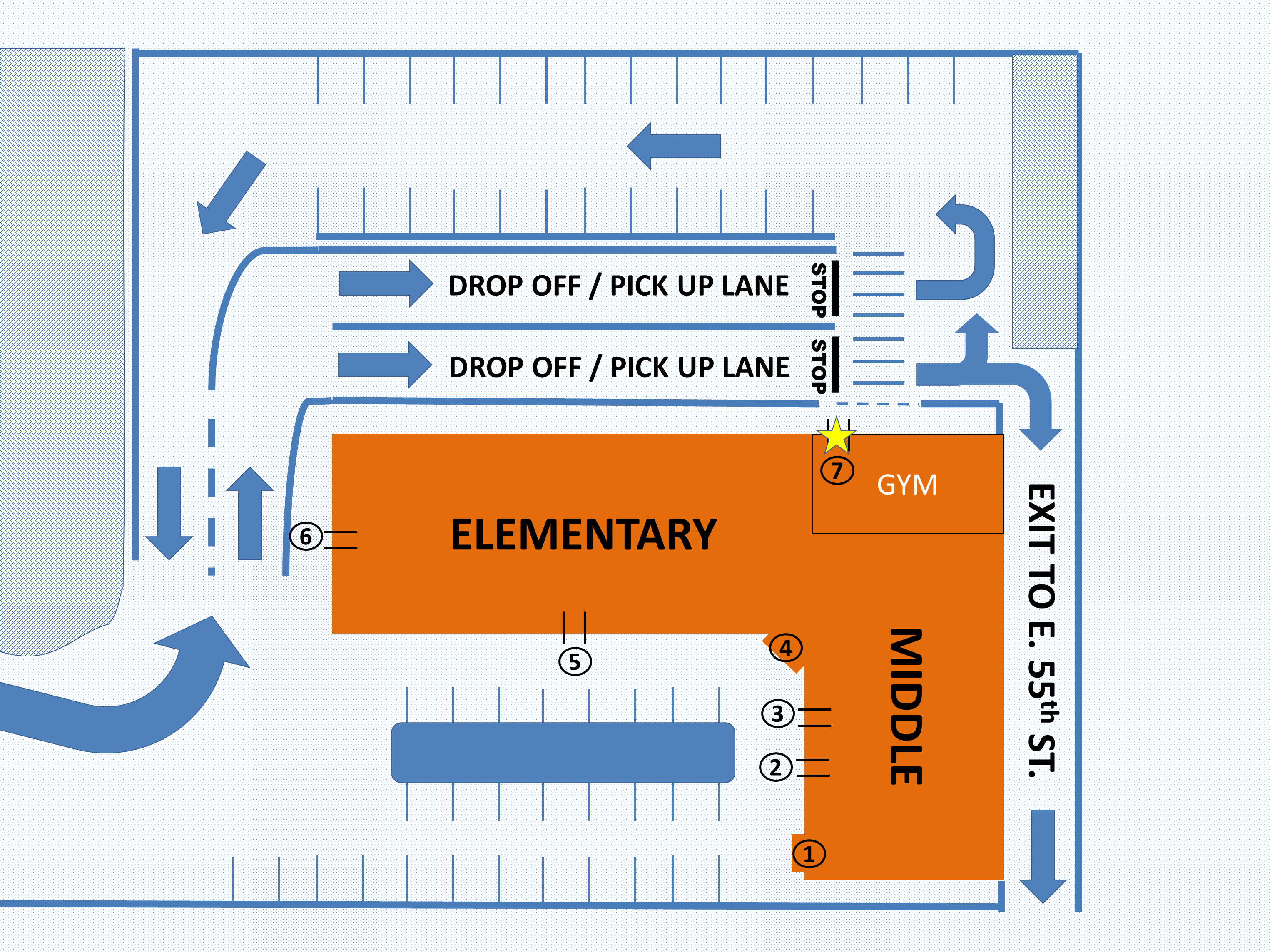 Dropoff and Dismissal Plan